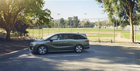 2018 Honda Odyssey at Richmond Hill Honda in the Greater Toronto Area (GTA, Ontario)