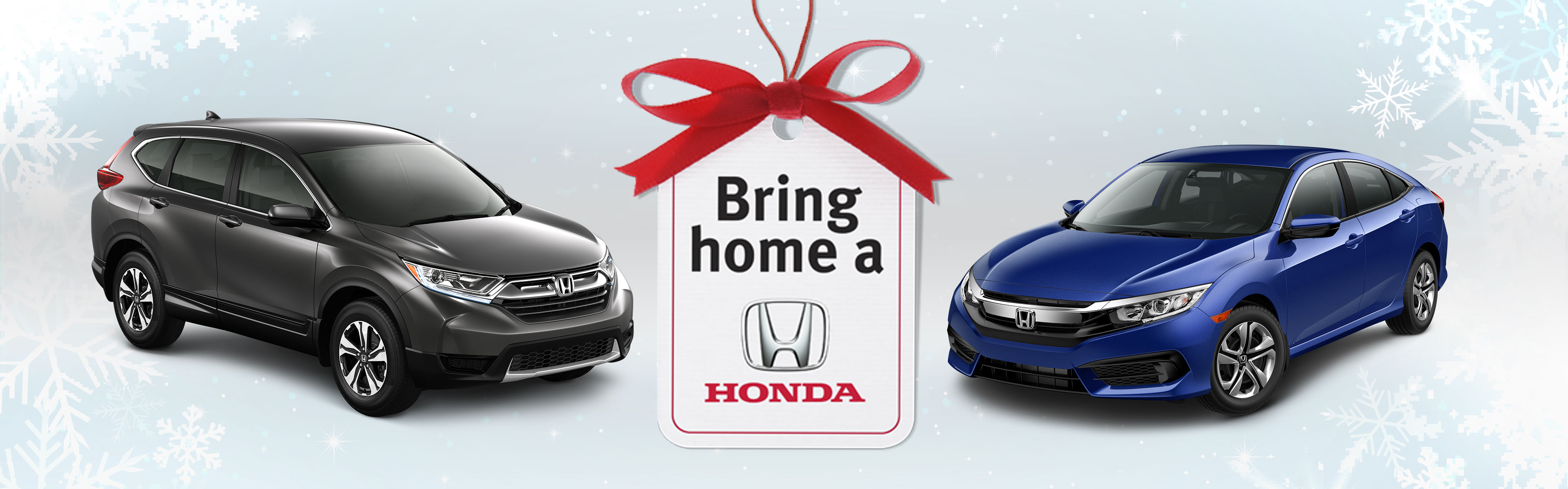 It's the Bring Home a Honda Event at Richmond Hill Honda in Toronto, the GTA, and all of Ontario.