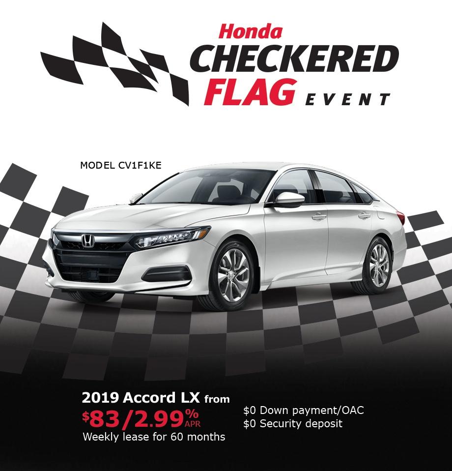Honda Canada Incentives