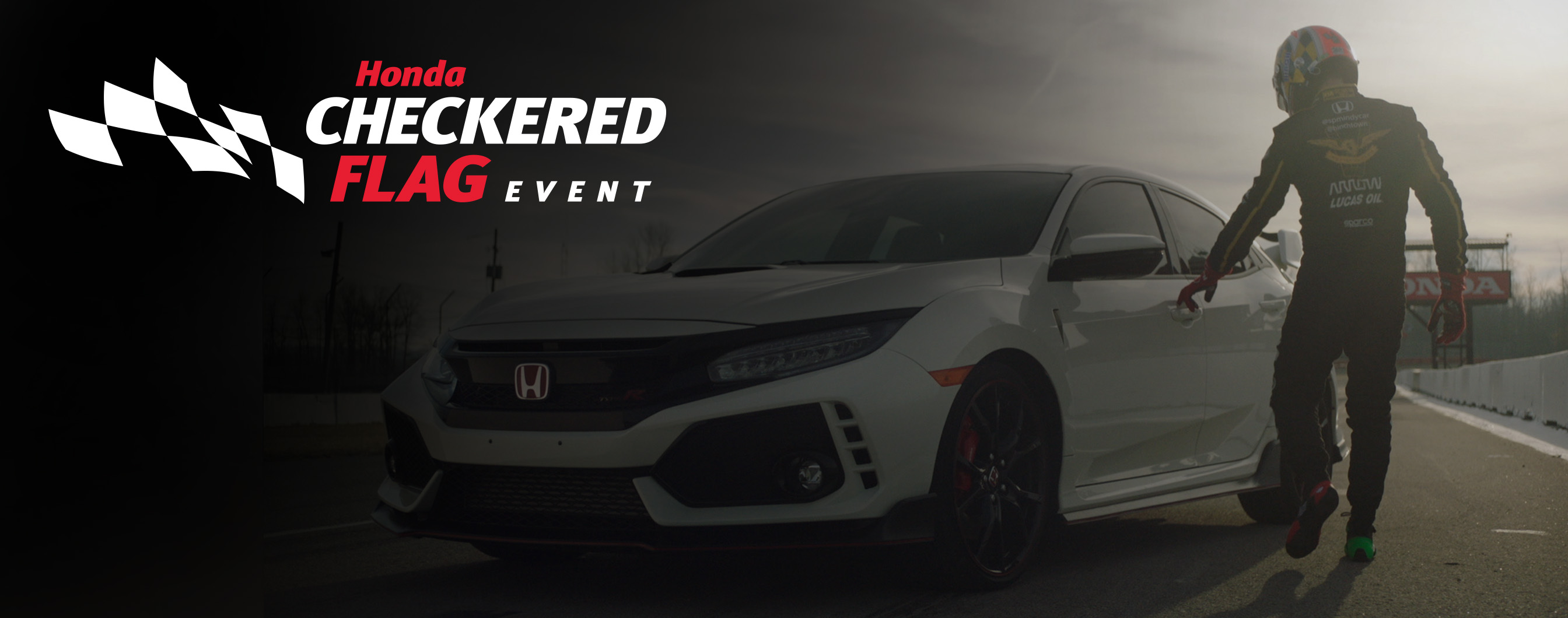 It's the Honda Checkered Flag Event at Richmond Hill Honda in Toronto, the GTA, and all of Ontario.