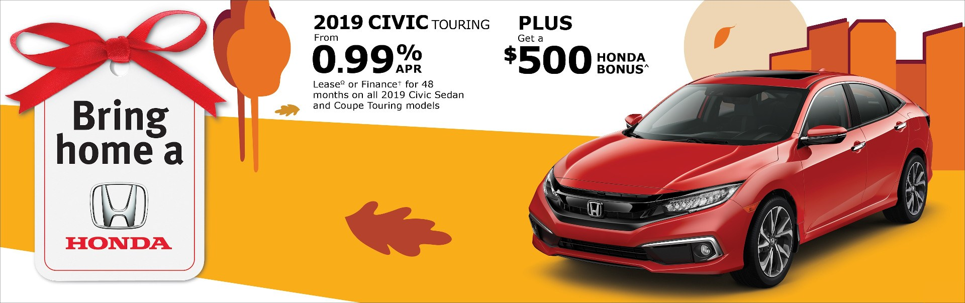 2019 Honda Civic at Richmond Hill Honda in Toronto and the GTA