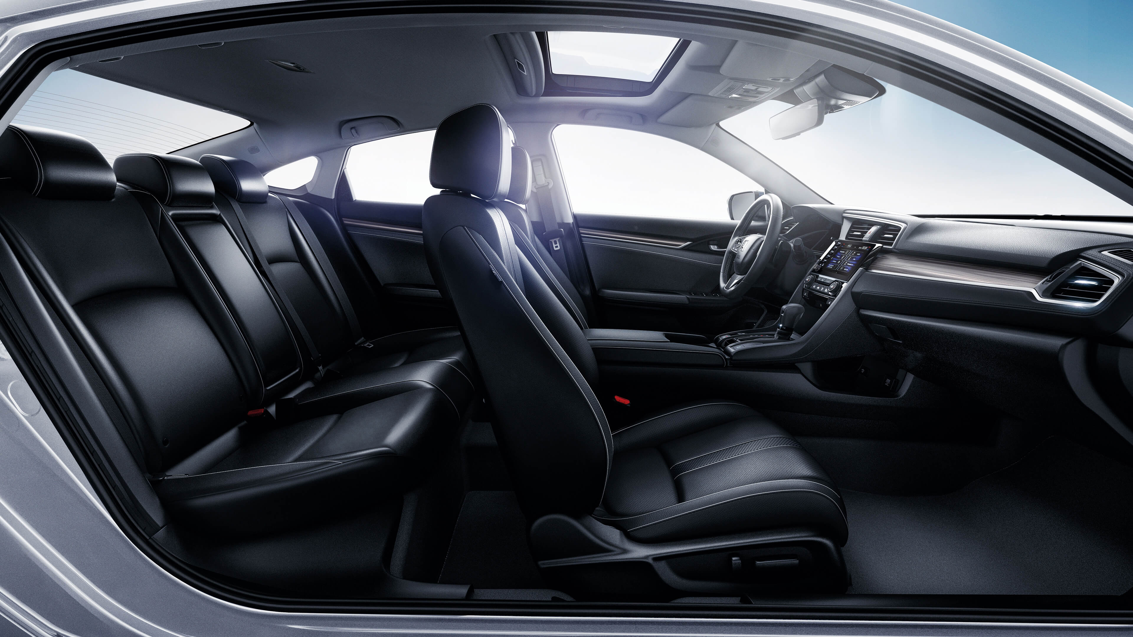 2020 Honda Civic Interior at Richmond Hill Honda in Toronto and the GTA