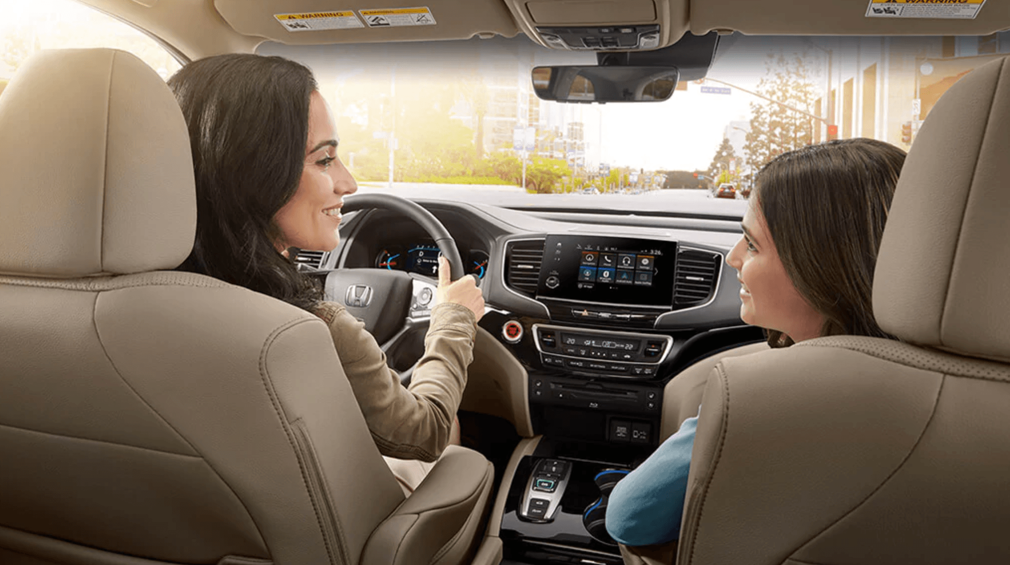 2020 Honda Pilot Interior at Richmond Hill Honda in Toronto and the GTA
