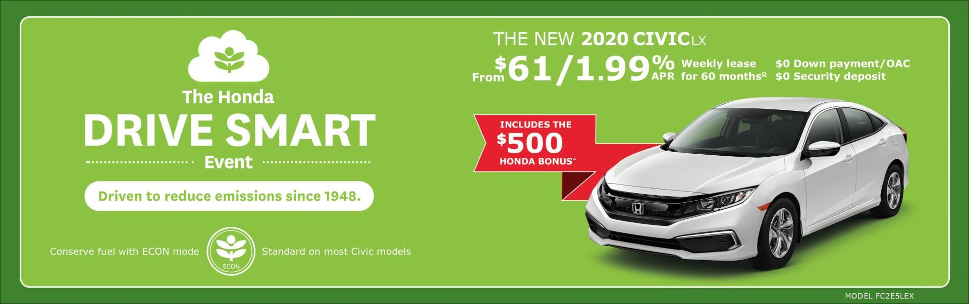 2020 Honda Civic at Richmond Hill Honda in Toronto and the GTA