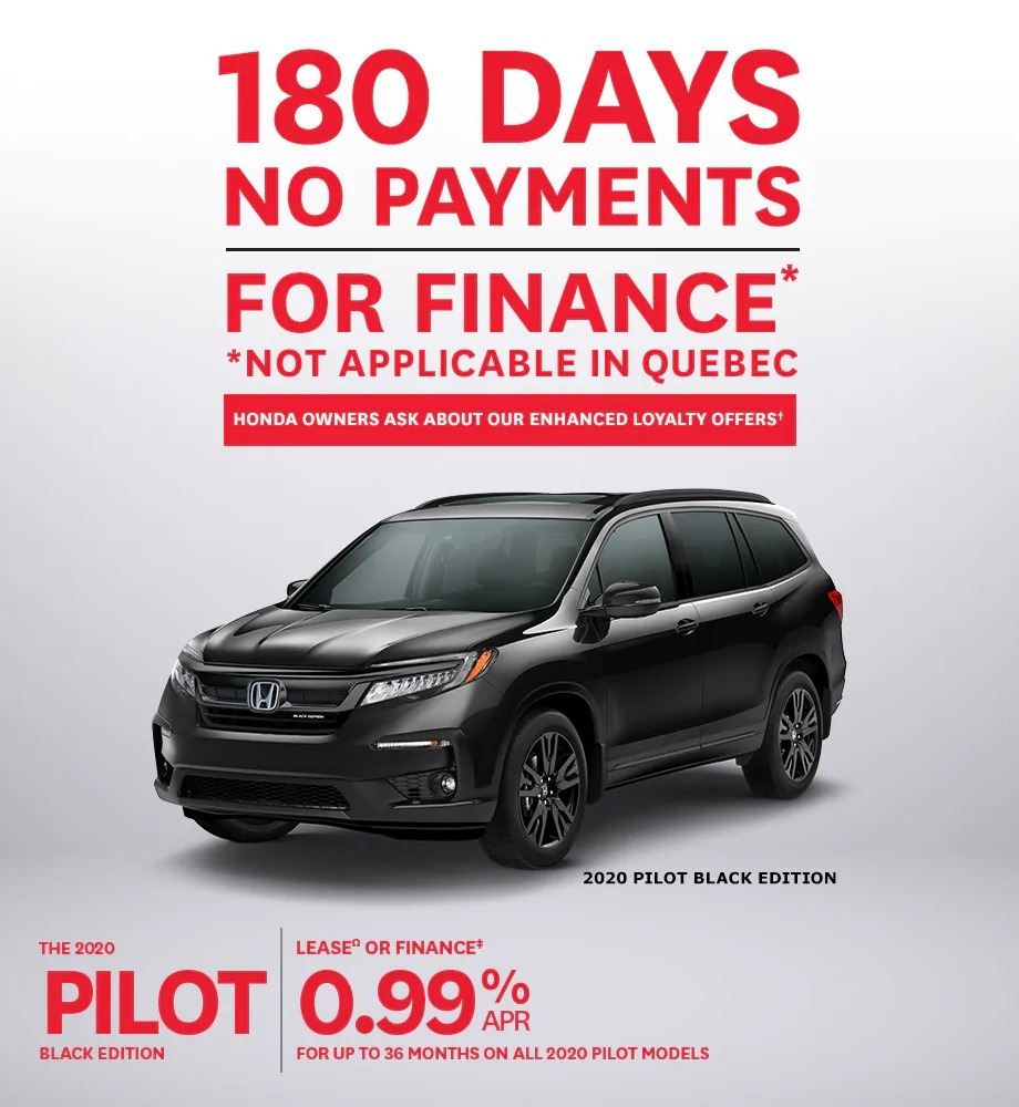 Honda Canada Incentives at Richmond Hill Honda in Toronto, the GTA, and all of Ontario.