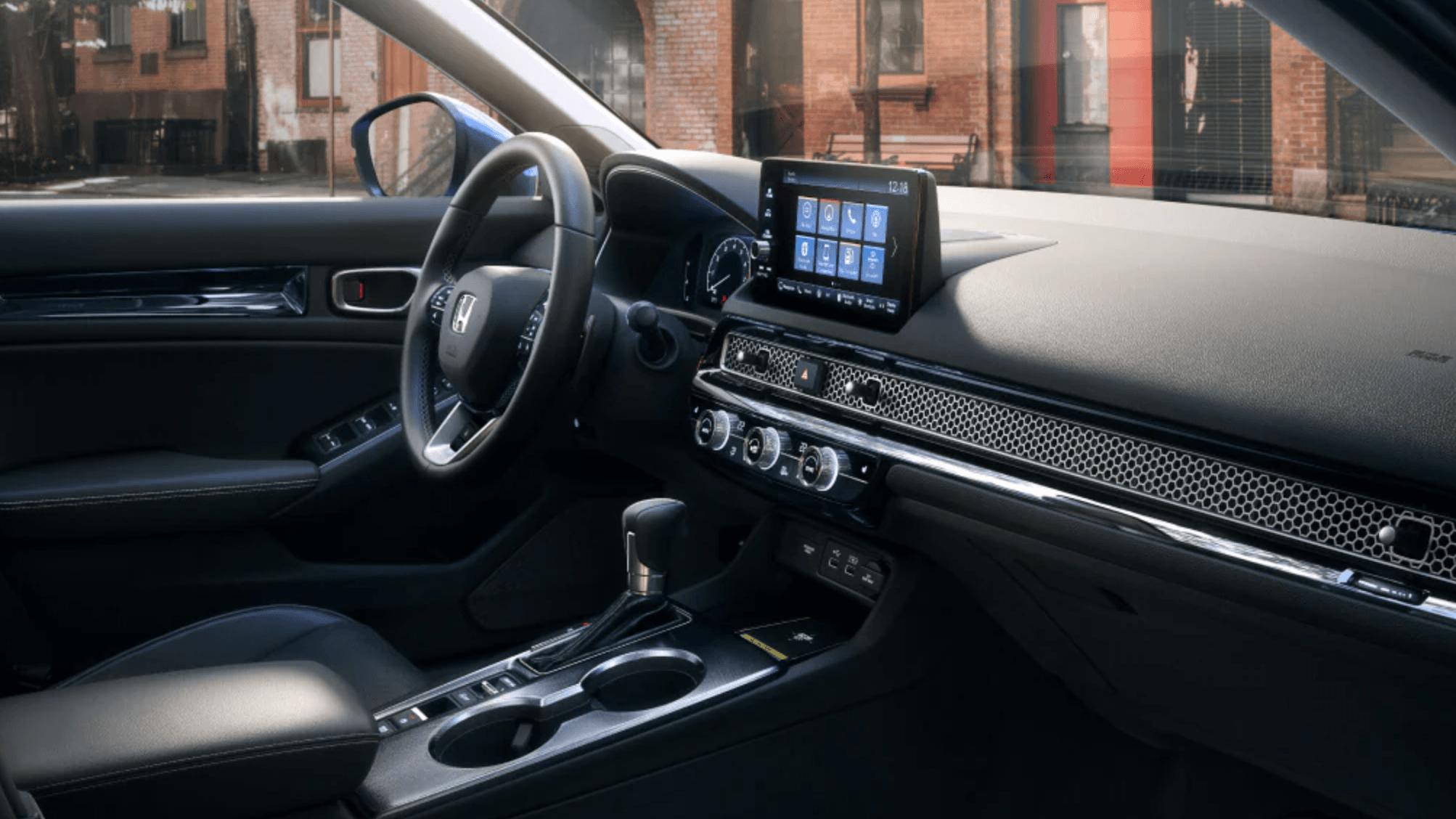 2022 Honda Civic Interior at Richmond Hill Honda in Toronto and the GTA