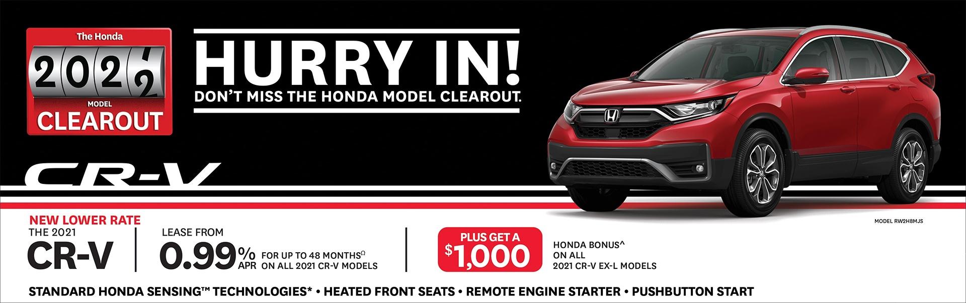 2021 Honda CRV Exterior at Richmond Hill Honda in Toronto and the GTA